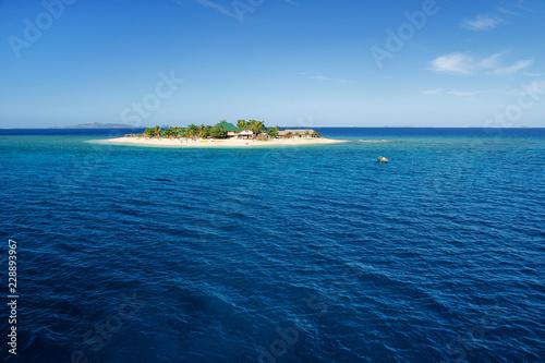 Small South Sea Island in Mamanuca Island group, Fiji