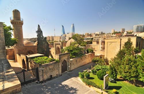 Fototapeta premium Baku - the capital and largest city of Azerbaijan