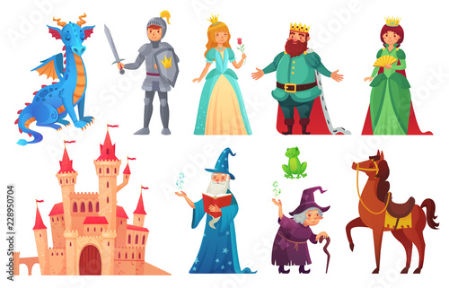 Canvas Fairy tales characters