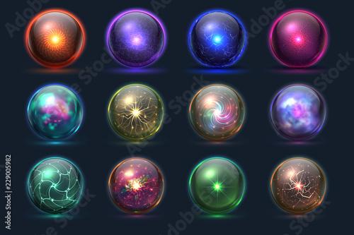 Canvas Print Magic balls