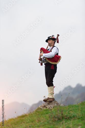 Bergamo bagpipe Fototapete