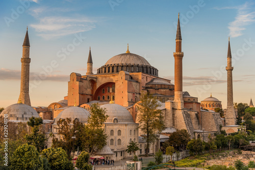 Valokuva Hagia Sophia or Ayasofya (Turkish), Istanbul, Turkey