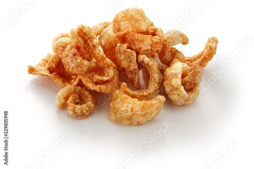 khaep mu, thai crispy pork rinds