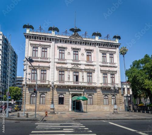 Catete Palace facade, the former presidential palace now houses the Republic Museum - Rio de Janeiro, Brazil