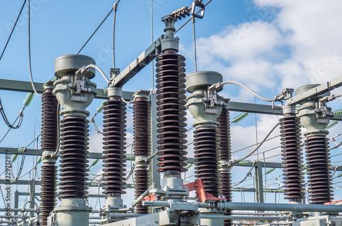 Umspannwerk Strom