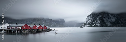 Hamnøy Lofoten Norwegen Fototapeta
