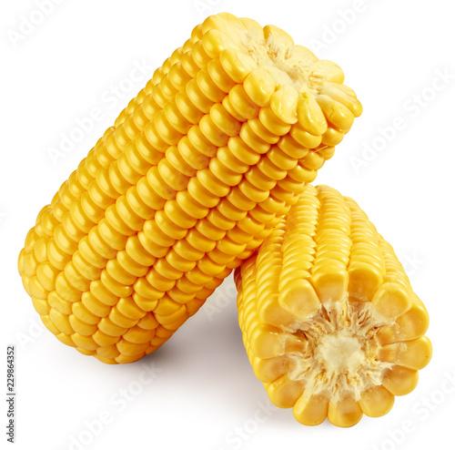 Fotografía Corn on the cob kernels