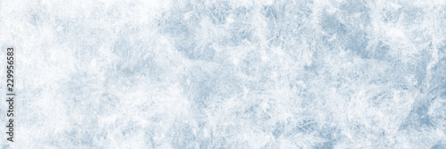 Textur blaues Eis, Winter Hintergrund für Werbeflächen Fototapeta