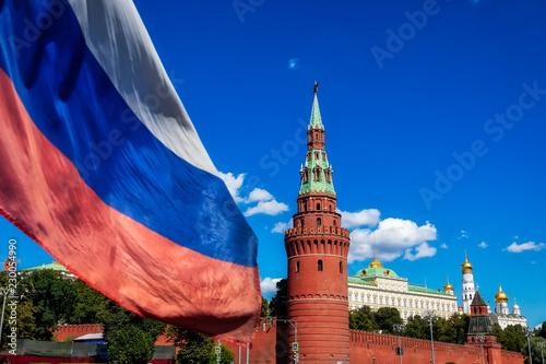 Fotografie, Obraz Beautiful view of Moscow Kremlin, Russia