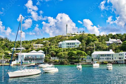 Photo Along the coast of the Bermuda island