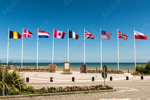 Juno Beach Monument Fotobehang