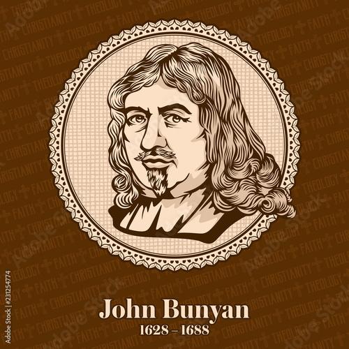 Fotografia John Bunyan (1628-1688) was an English writer and Puritan preacher