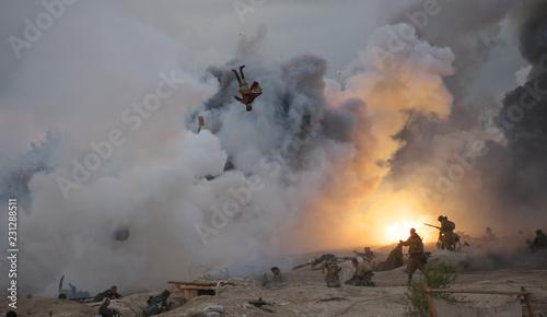Photo Military-historical festival in Crimea.
