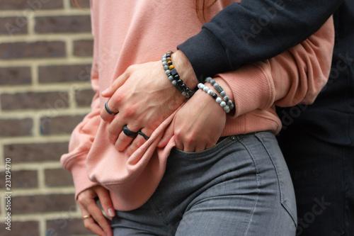 Cuadros en Lienzo Men's bracelets on hand