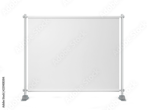 Blank backdrop banner Fototapete