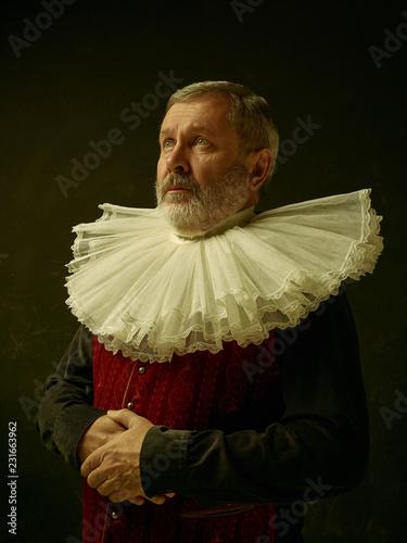 Fototapeta Oficjalny portret historycznego gubernatora ze złotego wieku