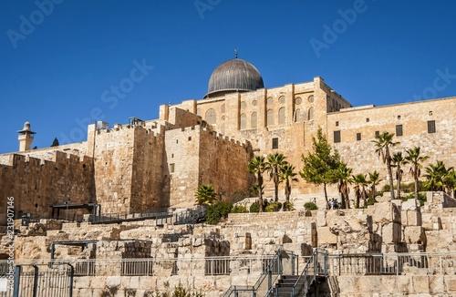 Stampa su Tela JERUSALEM, ISRAEL