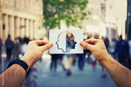 Photo split personality