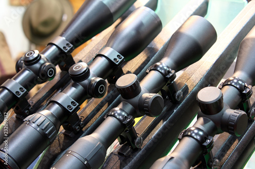 Sniper scope for hunting rifle