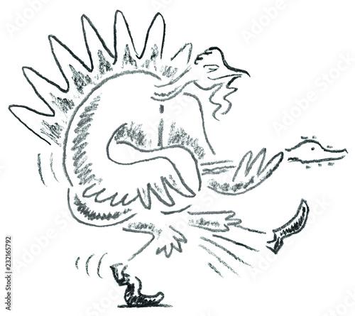 Turkey Duckwalk
