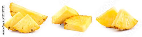 Fotografia pineapple isolated on white