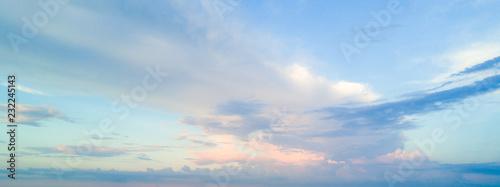Leinwand Poster 空と雲