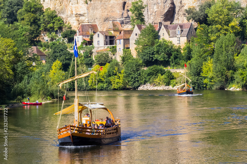 Fotografie, Obraz la Roque Gageac, Dordogne, France