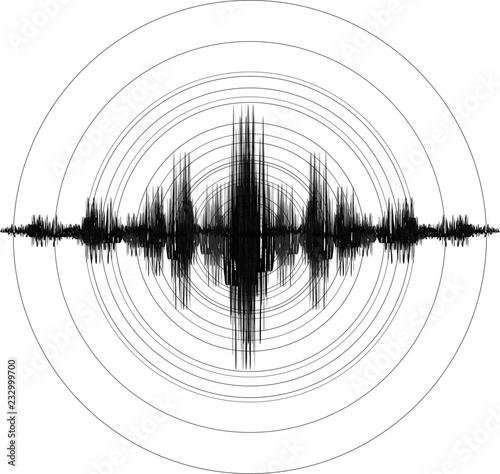 Tableau sur Toile Earthquake