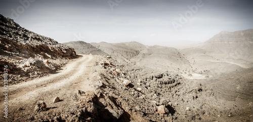 Obraz na płótnie Hajar Mountains of Ras Al Khaimah