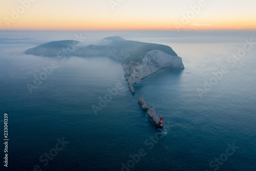 Canvas Print The needles isle of wight