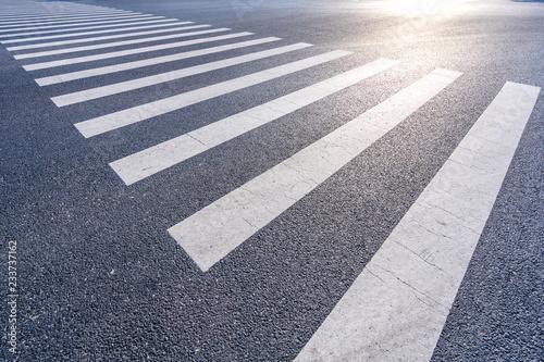 Fotografia road marking on road