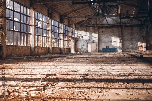 Old Rural Factory Room