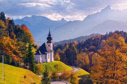 Slika na platnu Autumn in Alps