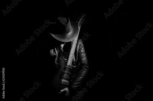 Obraz na plátně Guitarist
