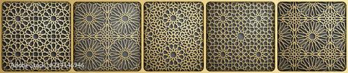 Photographie Islamic ornament vector , persian motiff