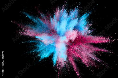 Carta da parati Colored powder explosion
