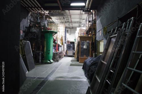 Billede på lærred theater storage space