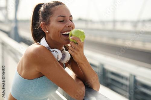 Tableau sur Toile Healthy lifestyle