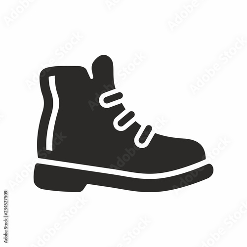 Canvastavla Industrial boot icon