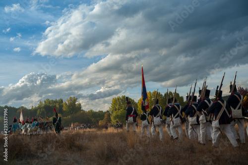Siege of Astorga Fotobehang