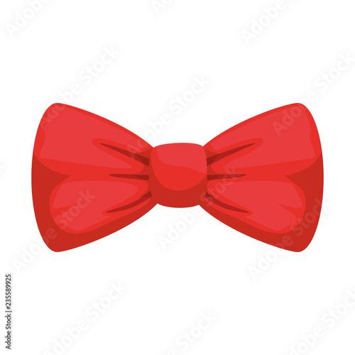 Photo elegant bowtie accessory icon