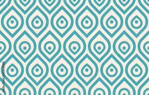 Fotografia Vintage peacock pattern