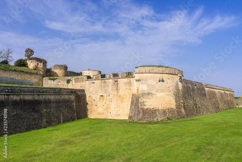 Photo Blaye Citadel, world heritage site in Gironde, France