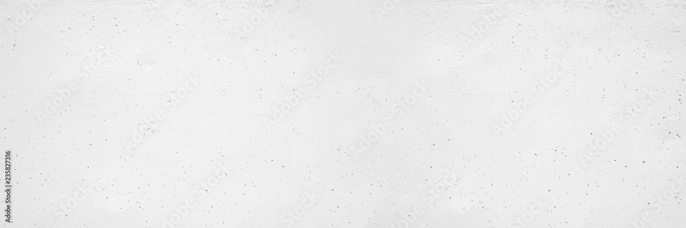 White concrete wall texture and background