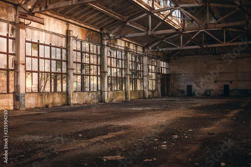Broken Empty Factory