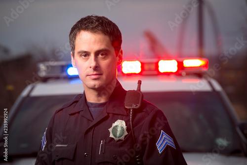 Photo Police sergeant portrait