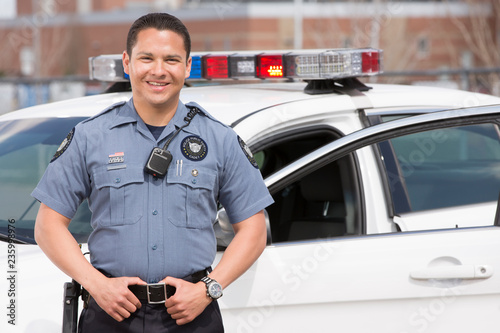 Stampa su Tela EMERGENCY SERVICES - Police Academy Cadet