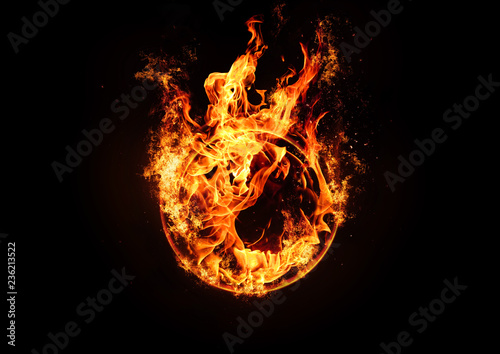 Fotografia A ring of fire