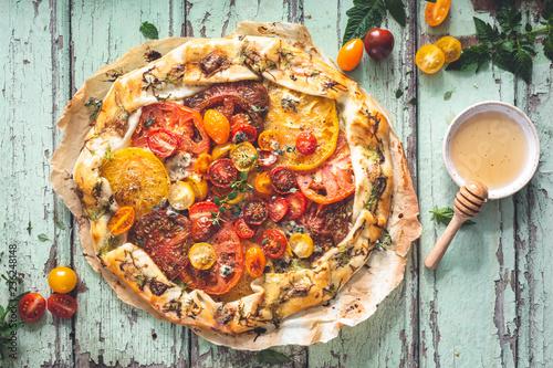 Tarte à la Tomate Heirloom Fototapeta