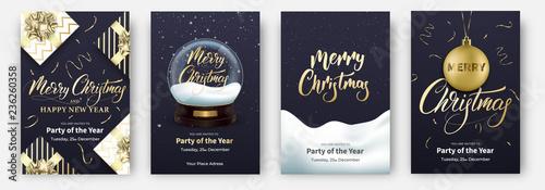 Canvas Print Christmas cards